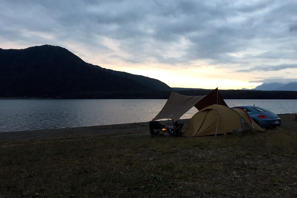 西湖自由キャンプ2
